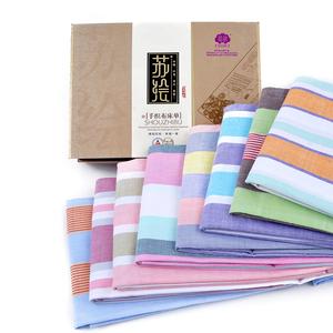 手工织布平纹床单